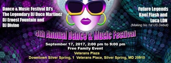 4th Annual Dance & Music Festival at Veteran's Plaza, Silver Spring