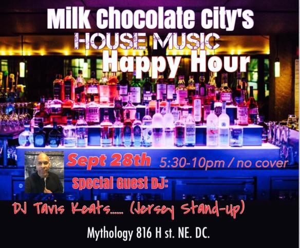 House Music Happy Hour with Tavis Keats at Mythology Restaurant & Lounge