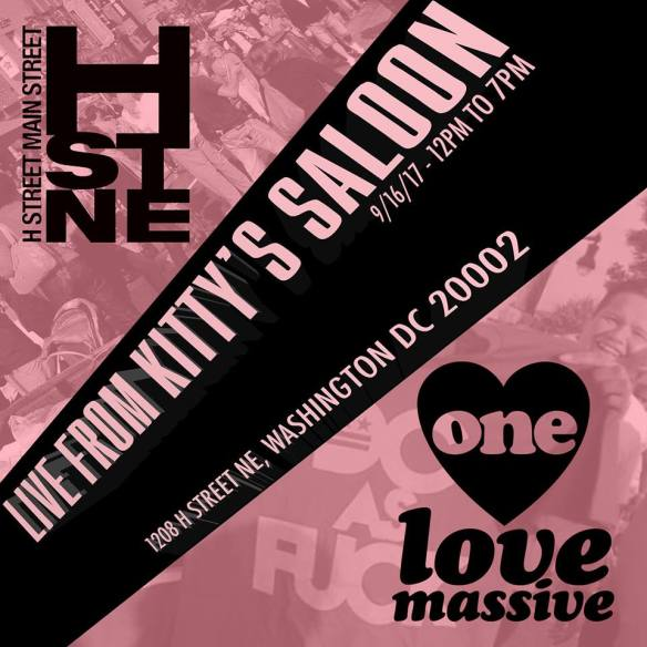 One Love Massive Live at H Street Festival with Symmetrical Kitty's Saloon