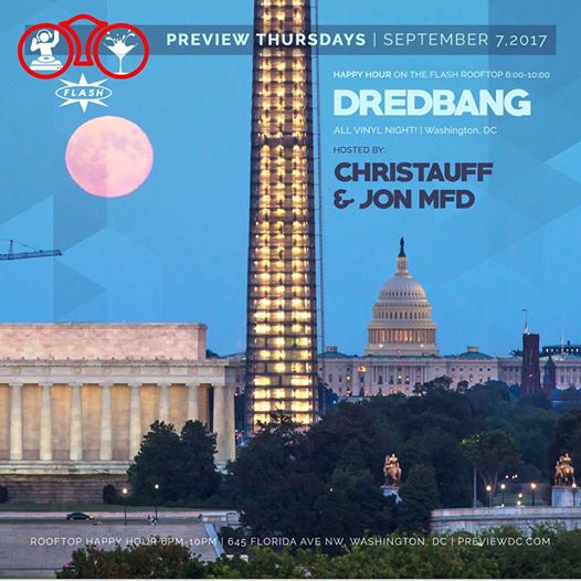 Preview Rooftop Happy Hour with Dredbang at Flash