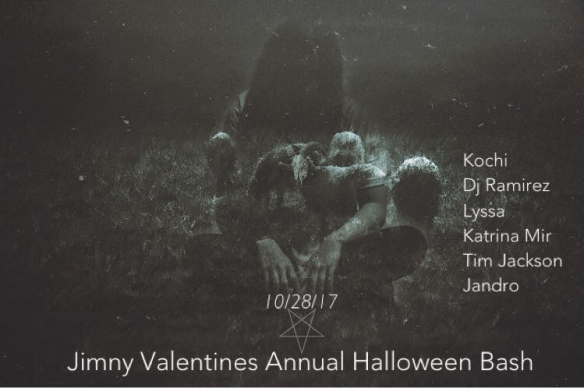 Jimmy Valentine's Annual Halloween Bash