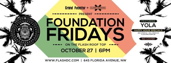Foundation Fridays feat. Yola (Grand Ancestor) at Flash