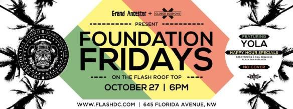 Foundation Fridays feat. Yola (Grand Ancestor) at Flash