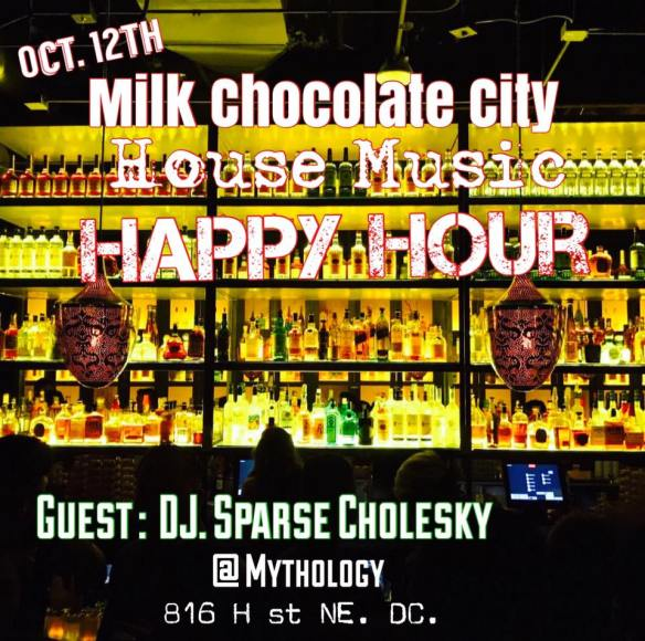 House Music Happy Hour with Sparse Cholesky at Mythology Restaurant & Lounge