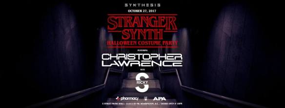 Synthesis presents: Stranger Synth Costume Party with Christopher Lawrence at U Street Music Hall