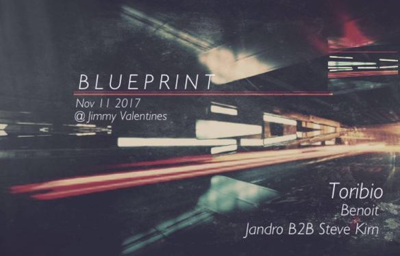 Blueprint with Toribio, Benoit, Steve Kirn & Jandro at Jimmy Valentine's Lonely Hearts Club