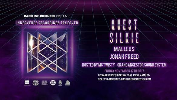 Bassline Business w/ Quest & Silkie at Warehouse Location