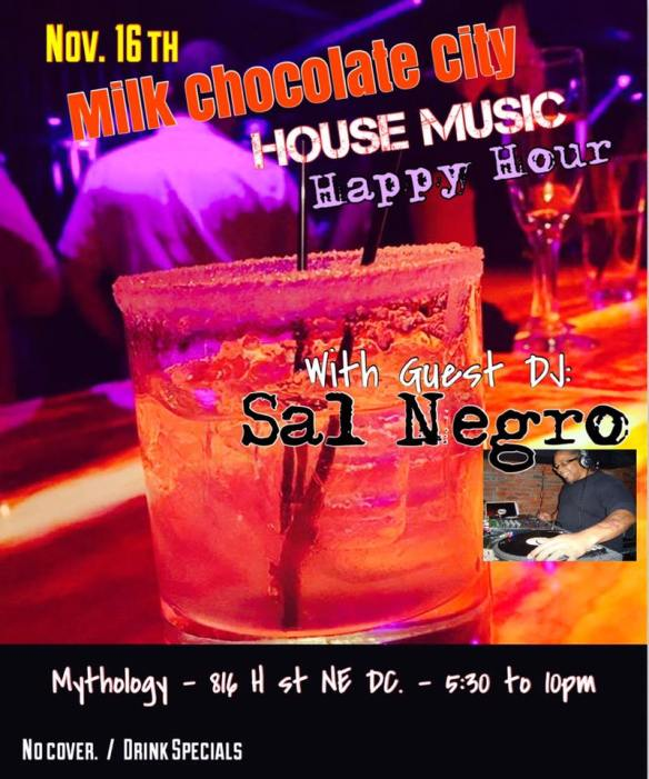 House Music Happy Hour with Sal Negro at Mythology Restaurant & Lounge