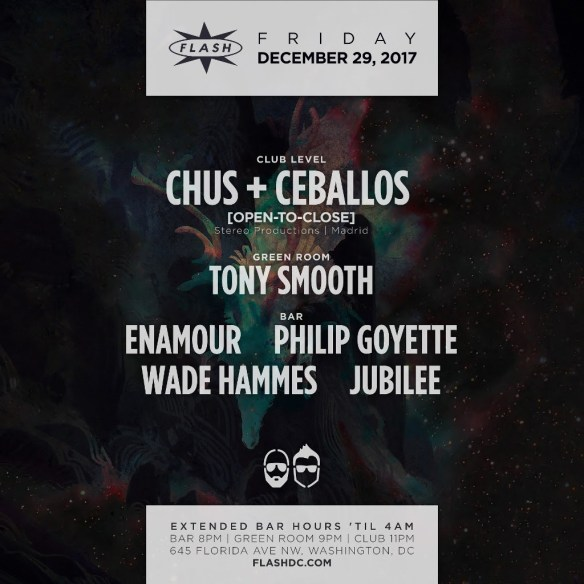 Chus & Ceballos [Open-to-Close] at Flash