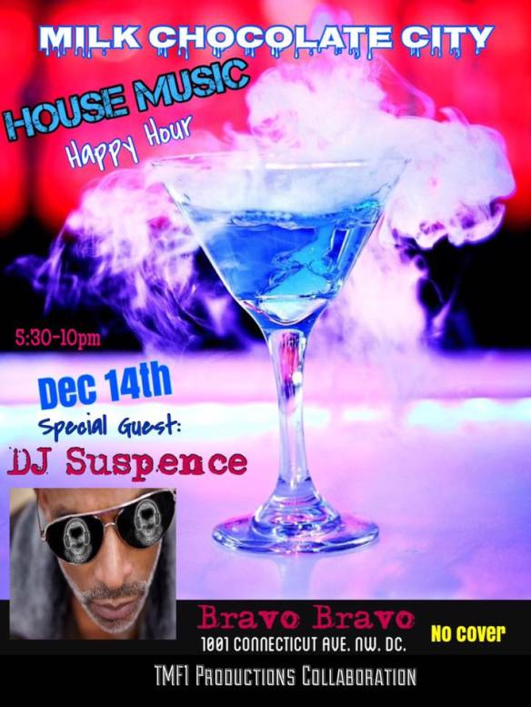 House Music Happy Hour with DJ Suspense at Bravo Bravo