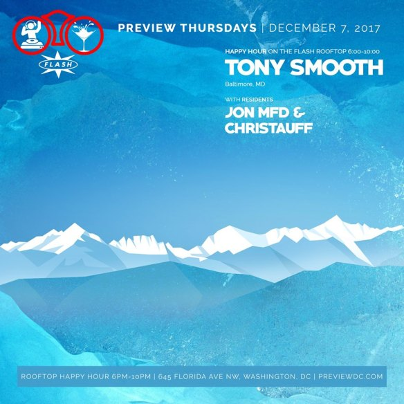 Preview Happy Hour featuring Tony Smooth at Flash