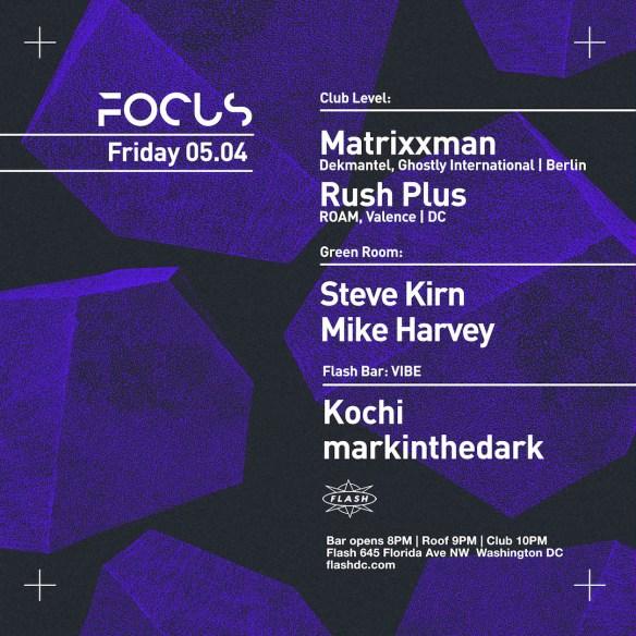 focus flash marcel dettman rush plus