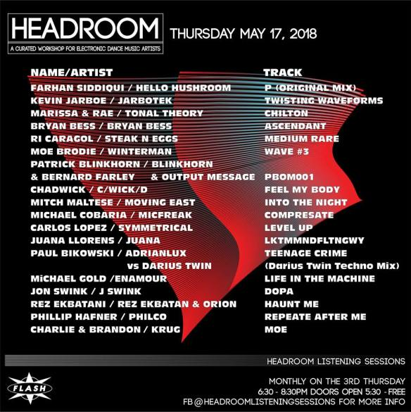 headroom listening sessions