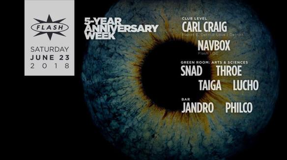 5 years of Flash carl craig