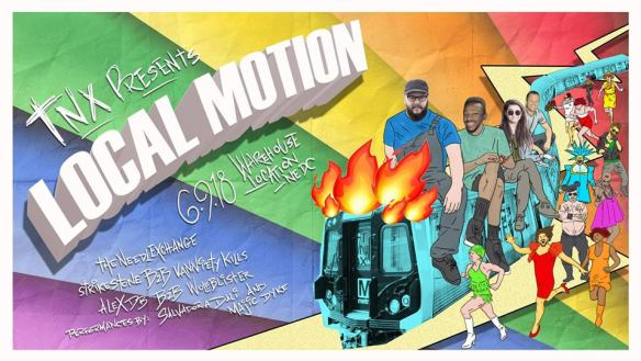 TNX Pride local motion