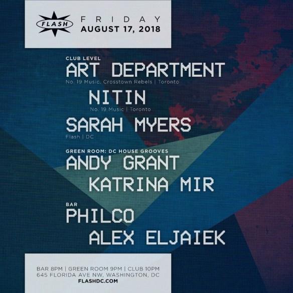 art department nitin flash