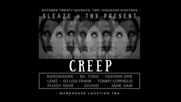 sleaze + TNX Creep