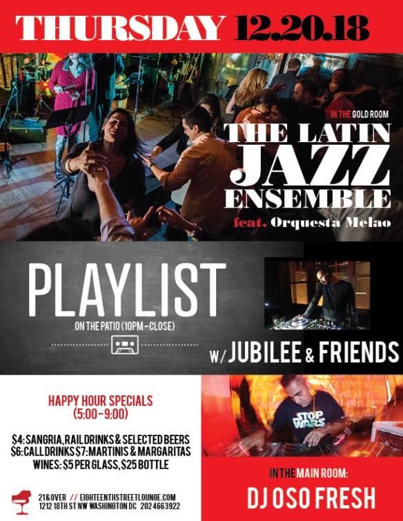Eighteenth Street Lounge Thursday Playlist