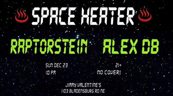 Space Heater Raptorstein Alex DB