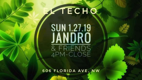 jandro and friends at el techo