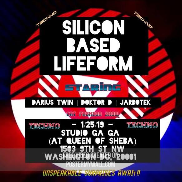 Silicon Based Lifeform at Studio Ga Ga