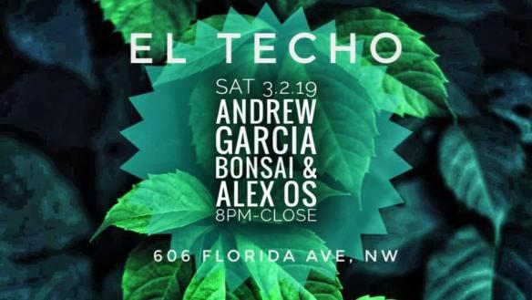 Andrew Garcia Bonsai Alex OS at El Techo