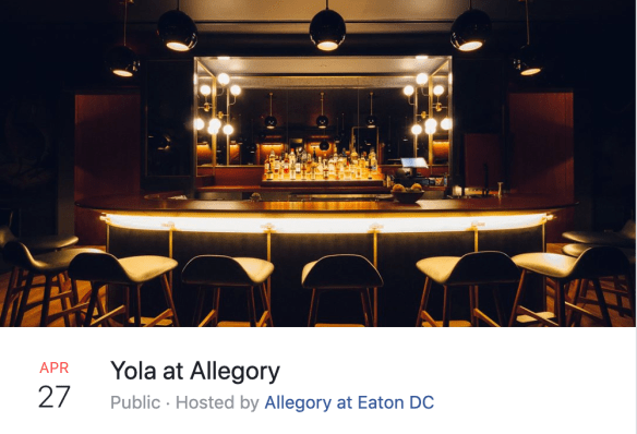 Yola at Allegory