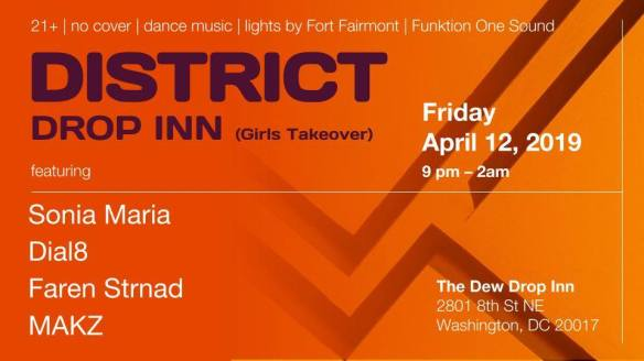 district drop inn girls takeover