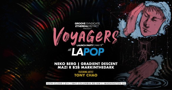 voyagers launch party