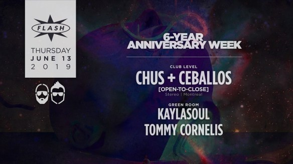 chus and ceballos at flash