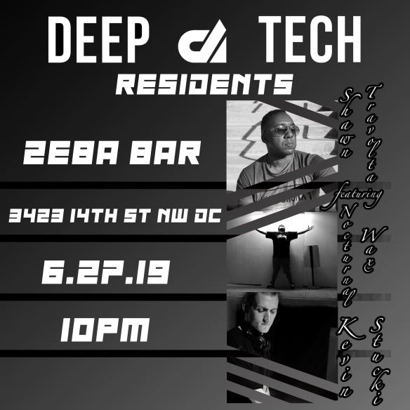 Deep Tech Residents at Zeba Bar
