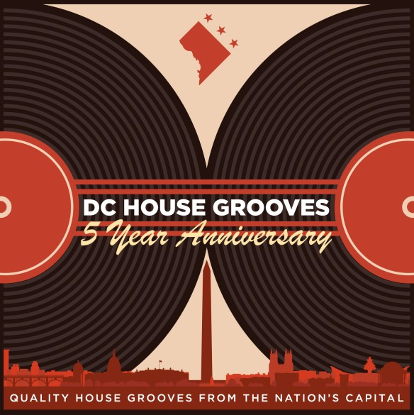 DC House Grooves 5 Year Anniversary Logo