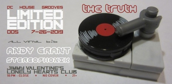 Limited Edition 005 The Truth with dj stereophonik and andy grant