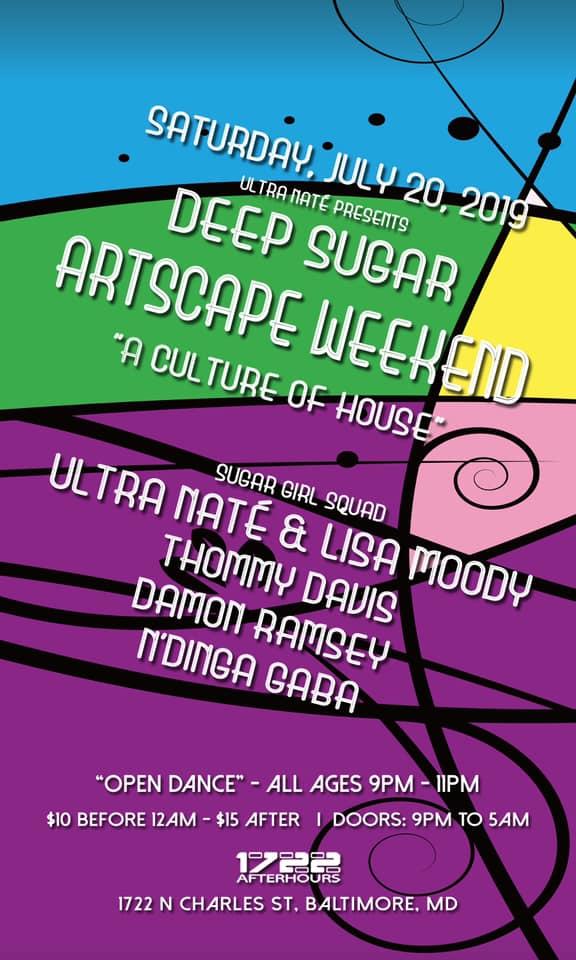 deep sugar artscape weekend