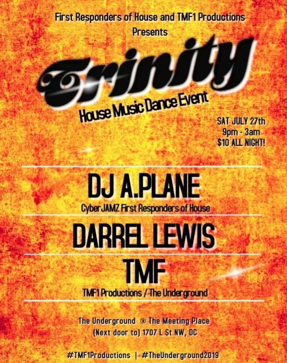 trinity house music dance event