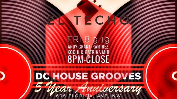 DC House Grooves 5 year anniversay