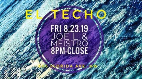 Joe L and Meistro at El Techo