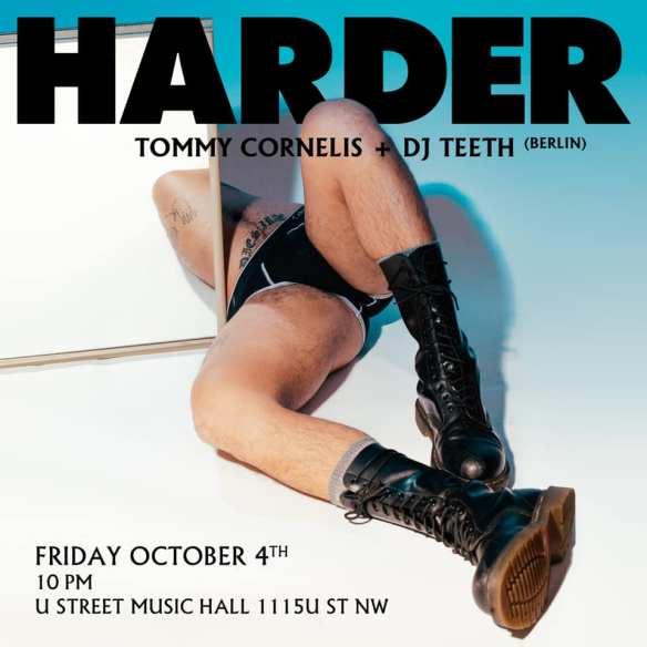 harder dc with tommy cornelis dj teeth