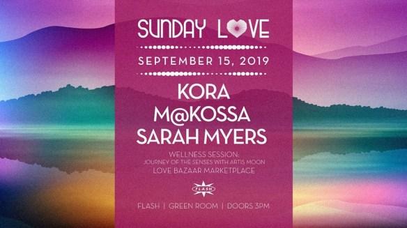 sunday love Kora Makossa sarah myers