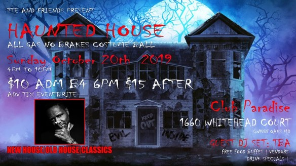 TTE haunted house