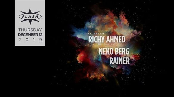 Richy Ahmed at Flash Dec 12