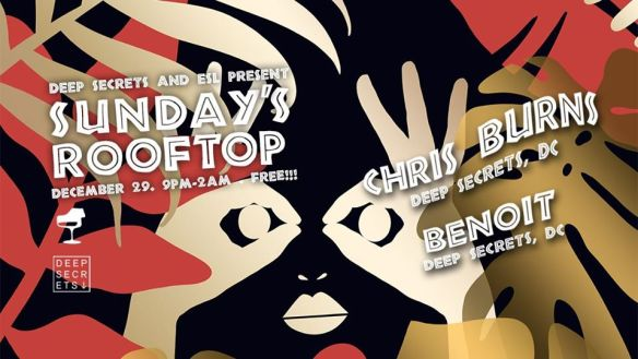 sundays rooftop with benoit and chris burns 12-29