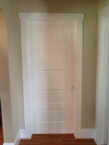 Five panel door--purchased from Sears 80 years ago?