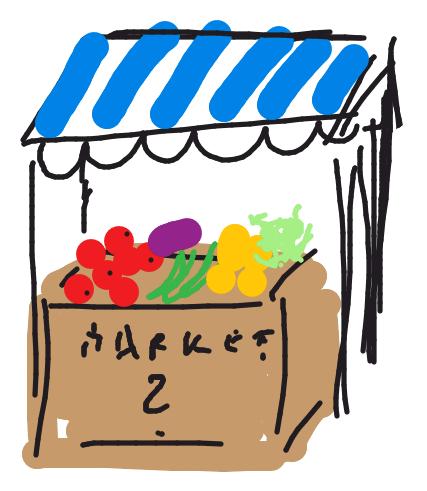 market stand--sketch--catarina bannier