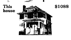 Kit house newspaper ad
