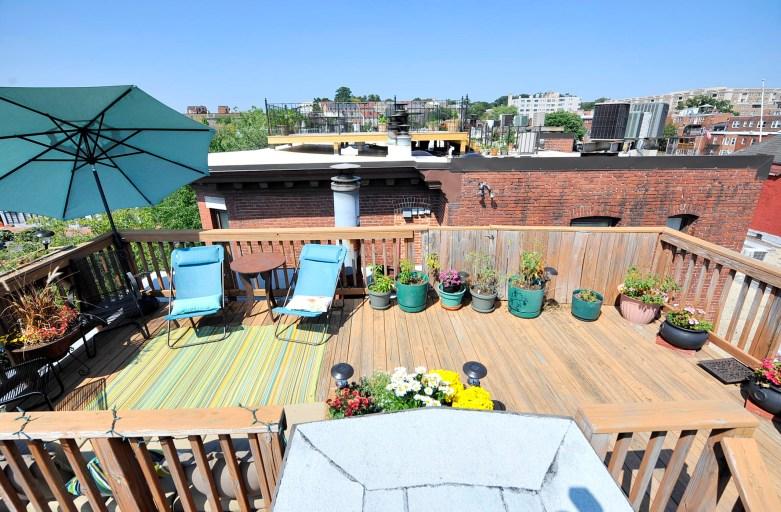 City Roof Deck DC Condo