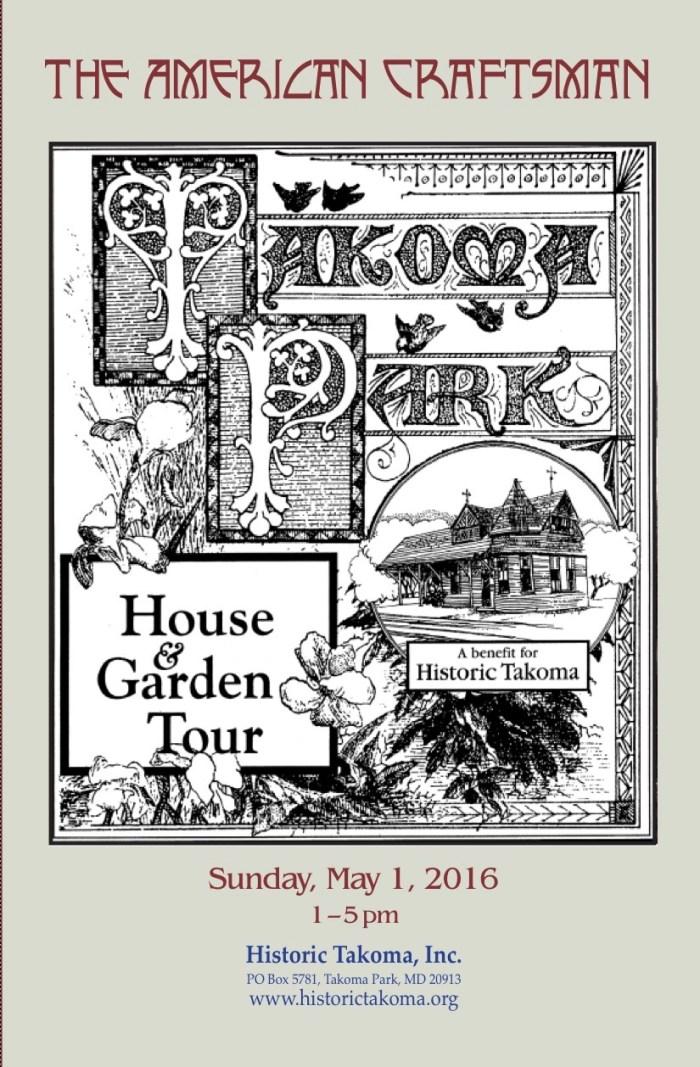 TAkoma Park house & Garden Tour 2016