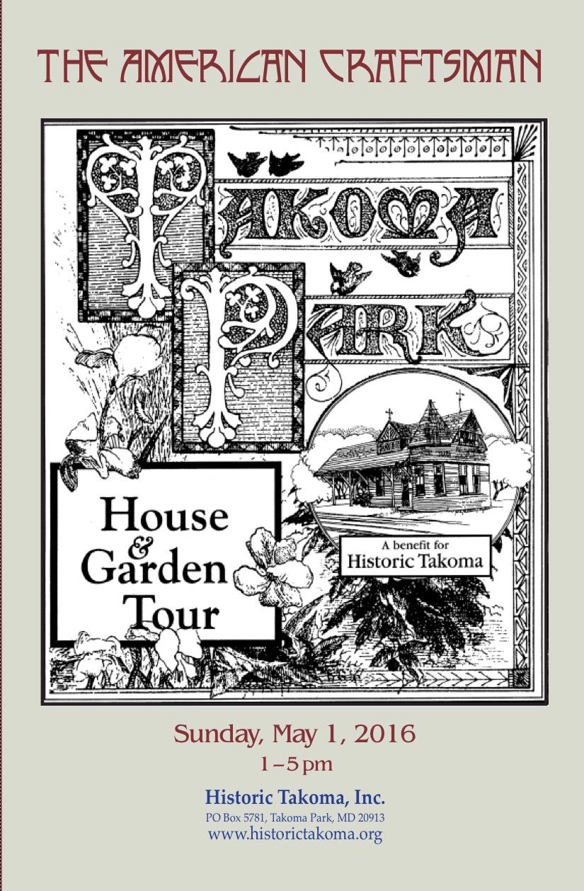 Weu0027re Quite Pleased To Be One Of The Sponsors Of The Upcoming Takoma Park House  And Garden Tour Taking Place On May 1 From 1 5pm.
