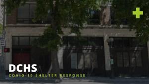 DCHS COVID-19 Shelter Response Jefferson Day Center background