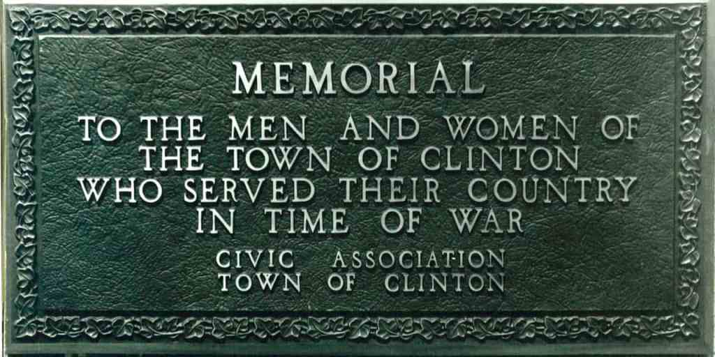 Clinton Memorial WWI